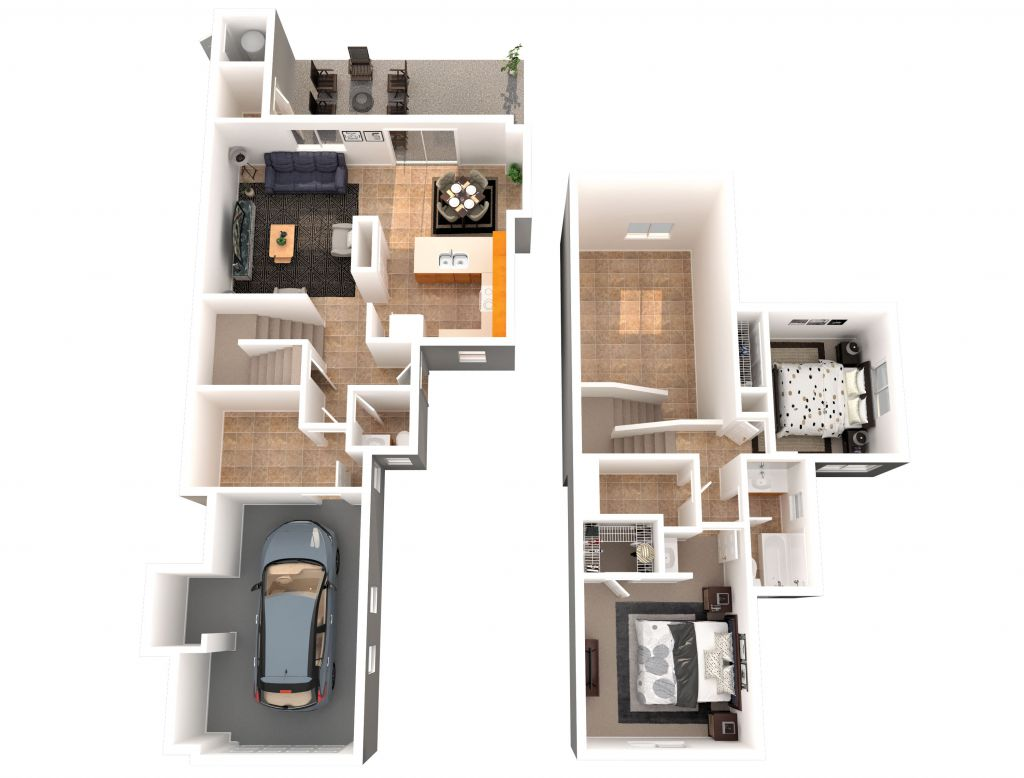 2 Bed, 1.5 Ba (PH15 CD.1)